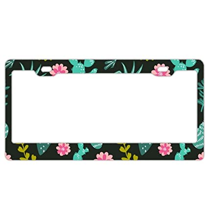 amazon com alumina live mirror template license plate frame tag