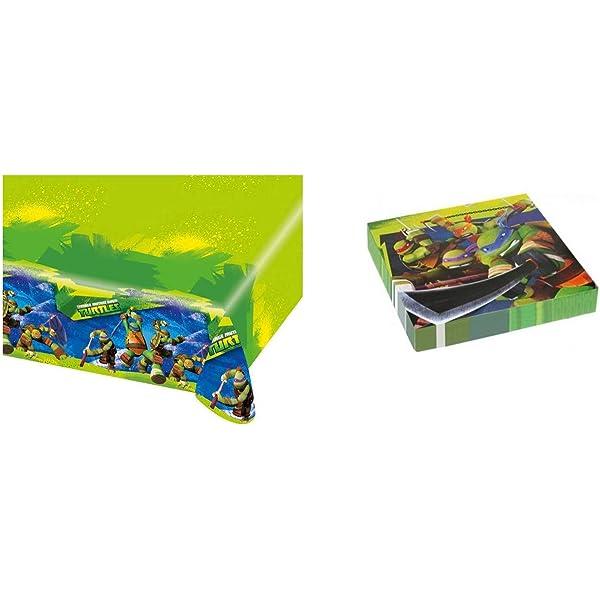 Amscan - Cubertería para Fiestas Tortugas Ninja (RM552465 ...