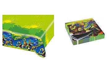 ALMACENESADAN 2503; Pack Desechables Tortugas Ninja; Ninja ...
