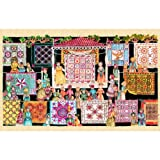 The Quilting Show Circuit 1000pc Jigsaw Puzzle by Jeri Landers