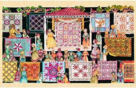 SUNSOUT INC The Quilting Show Circuit 1000pc Jigsaw Puzzle by Jeri Landers