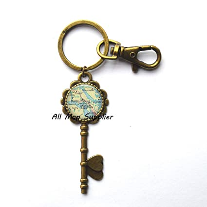 Amazon.com: Charming Key Keychain,Williamsburg,Virginia map Key Key on map of charleston, map of fries, map of emerald mound, map of windsor heights, map of the brooklyn, map of west branch, map of cedar, map of university heights, map of firethorne, map of gordonsville, map of brookneal, map of mount weather, map of vassar, map of rockbridge county, map of cole county, map of white city, map of lawrenceburg, map of weatherly, map of providence place, map of james river bridge,