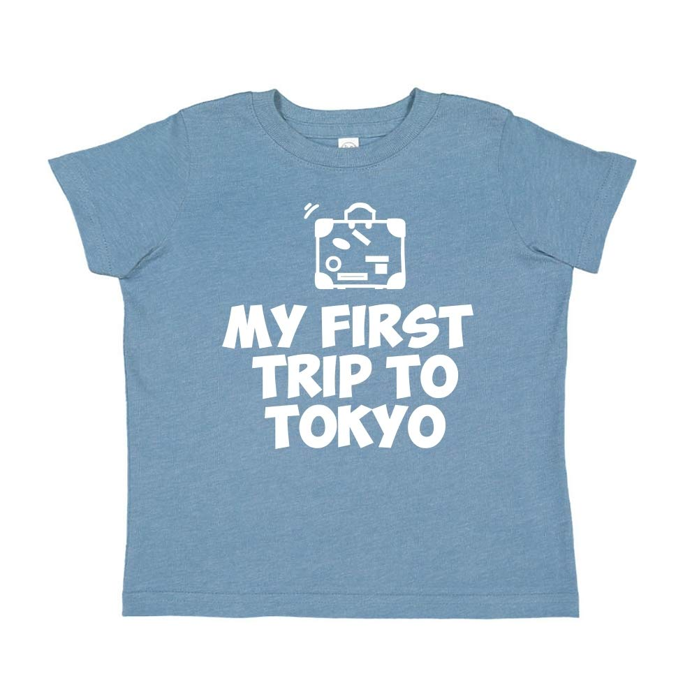 Toddler//Kids Short Sleeve T-Shirt Mashed Clothing My First Trip to Tokyo