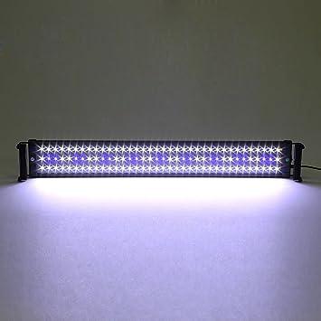 ETiME Aquarium Beleuchtung Lampe LED Aufsetzleuchte Schwarz ...