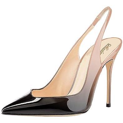 Modemoven Escarpins Pointus Femme Sexy,Chaussures Pointues Femme,Chaussures  de Mariage Femme,Chaussures 3560fc58731e