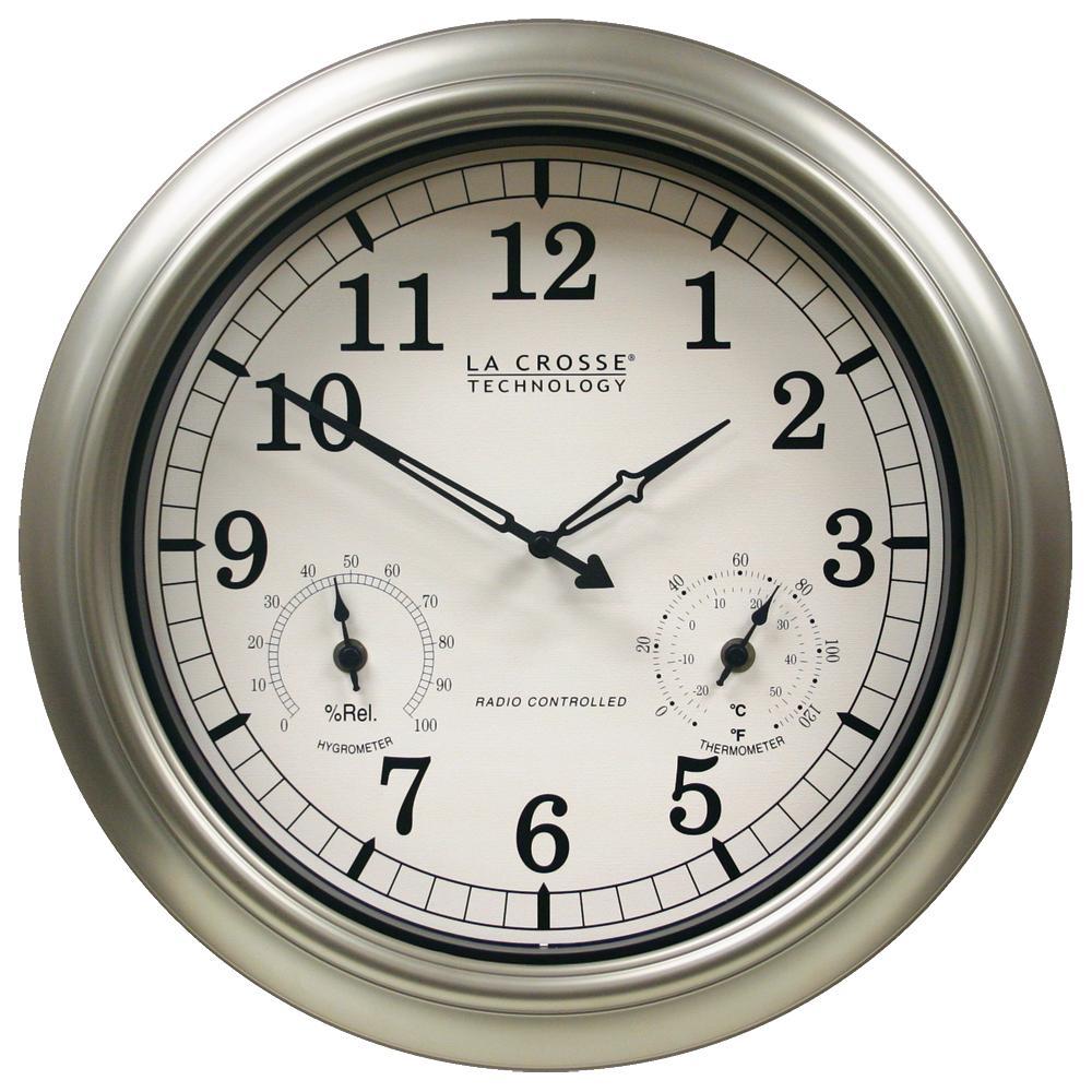 Outdoor Atomic Clock: 18\