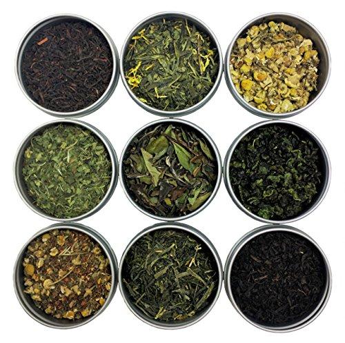 Heavenly Tea Leaves Loose Tea Sampler (Classic 9 Tea Sampler)