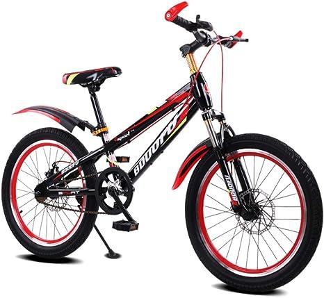 LEZI Niño y niña de la Bicicleta de los niños, Amortiguador ...