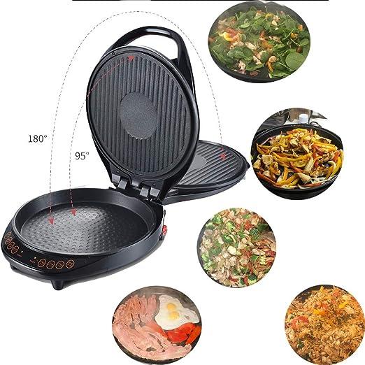 CanKun Multi Grill y Pizza Maker Multi Cocina Horno Antiadherente ...