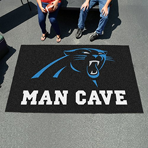 Carolina Panthers Man Cave UltiMat Rug 60''x96'' - FAN-14278 by Fanmats