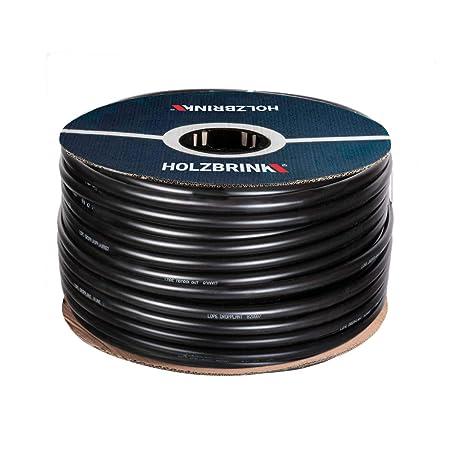 HOLZBRINK Verlegerohr Brauchwasserleitung für Sprenklersysteme, Kunststoff, Durchmesser: 25mm - 1 Zoll, Länge: 50m, HWS01-25