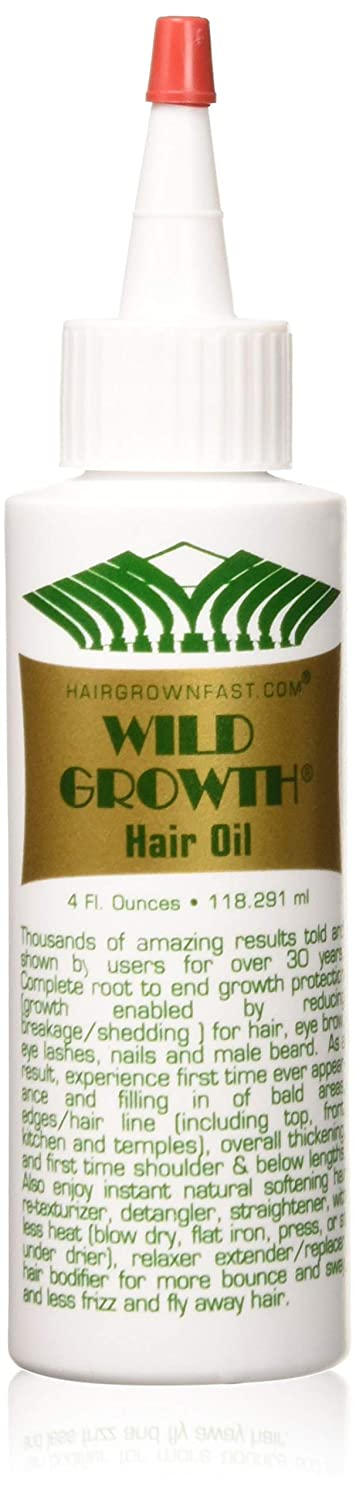 Wild Growth Hair Oil 4ozPack of 2