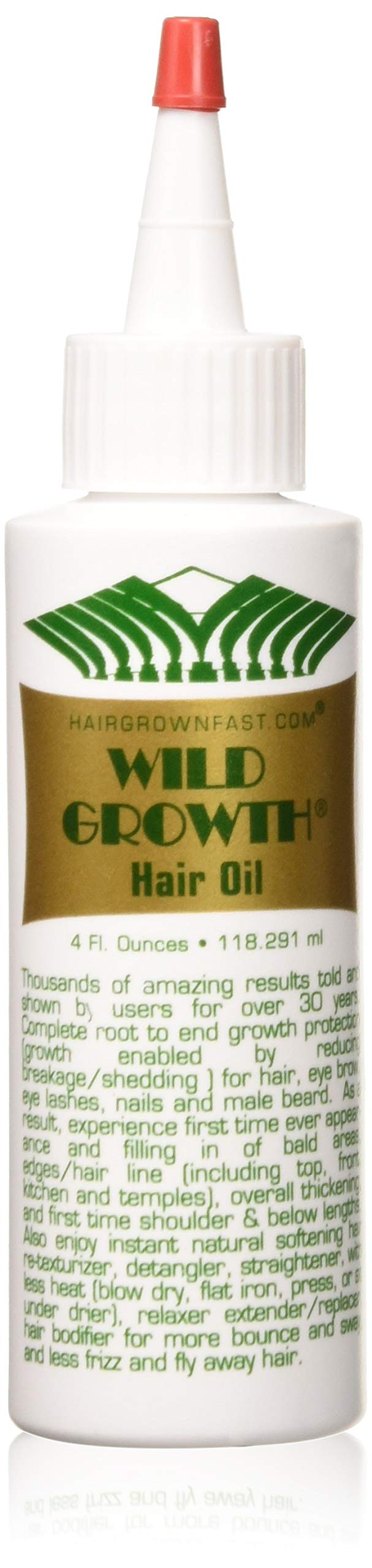 Wild Growth Hair Oil 4oz ''Pack of 2'' by Wild Growth
