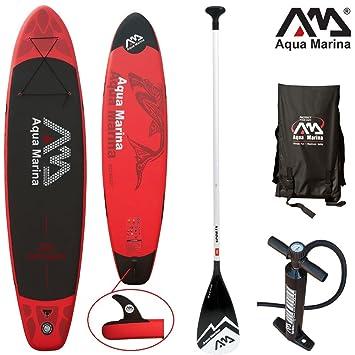 Aqua Marina Monster - Set de tabla y accesorios para SUP, 330x 75