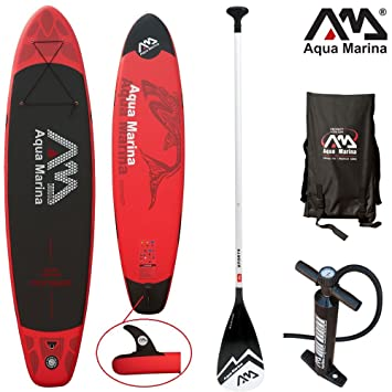 Aqua Marina Monster - Set de tabla y accesorios para SUP, 330x 75&nbsp