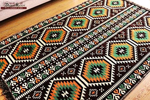 Carpet 135x200 cm,4,5'x6,5' , Oriental Carpet Kilim Rug Kelim /Floor Mat,Tapestry wall hanging ,Floor runner, Area Rug, Rugs,Teppich,Läufer,Tapis,Tapiz,alfombra S 1-4-73 (Runner Rug Hanging Wall)