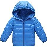 a85e6711aa20a Shengwan Enfant Garçon Fille Doudoune à Capuche Chaud Hiver Blouson Manteau  Veste Ski Vêtement