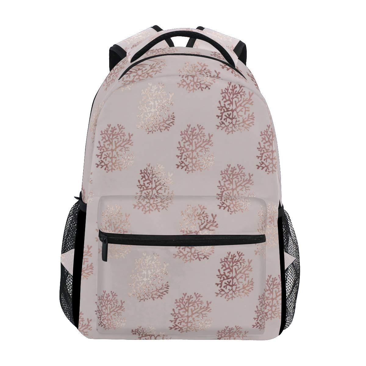 54142325832 Amazon.com  Large Travel Outdoor Sports Laptop Backpack Water Resistant for  Women   Men College School Rose Gold Beautiful Snowflake  Computers   ...