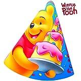 Party Hüte von Disneys Winnie the Pooh