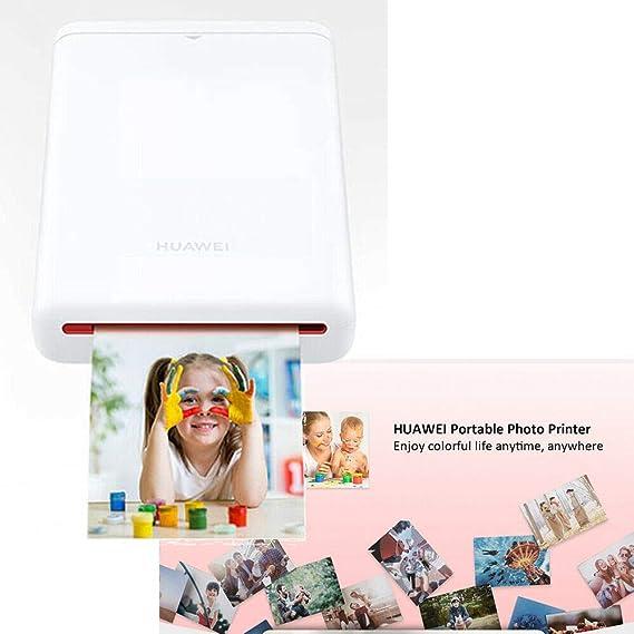 Impresora de Fotos portátil Huawei, Impresora AR 300dpi CV80, Mini ...
