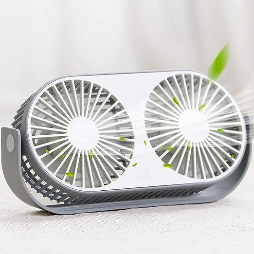 YSCCSY Ventilador de Escritorio pequeño, silencioso Ventilador de ...