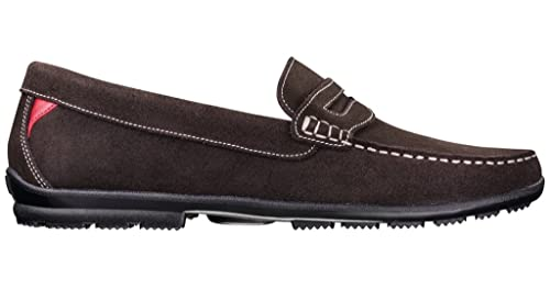 2d56a165789 Footjoy club casual golf shoes chocolate brown suede medium jpg 500x263 Footjoy  club casual