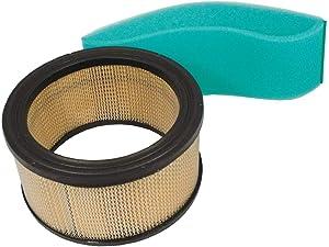 KOHLER 45 883 02-S1 Engine Air Filter With Pre-Cleaner Kit For K341, M10 - M16, KT Dome Style, CV17 - CV25