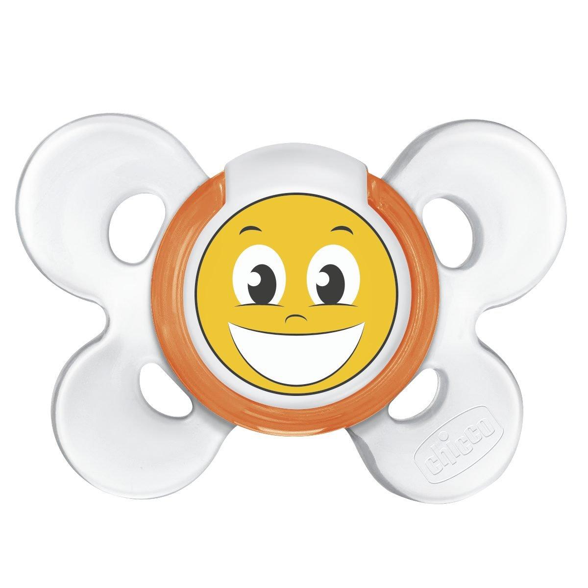 Chicco Chupete Comfort silicona de la sonrisa +12 Meses ...