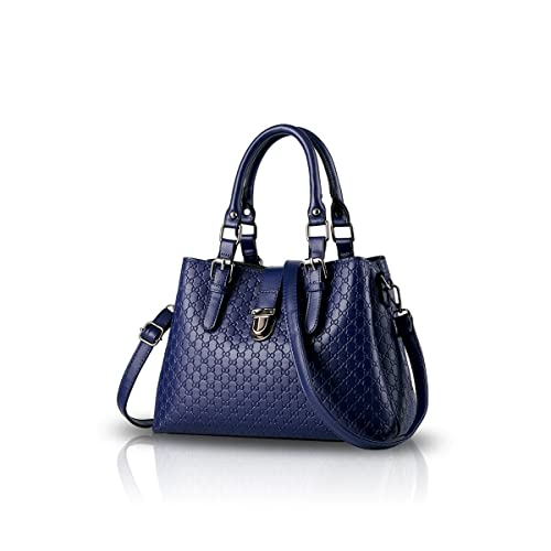 bd5bd025ea8 NICOLE DORIS New Handbag Minimalist Fashion Shoulder Bag Messenger Big Purse  for Women - Sapphire  Amazon.in  Shoes   Handbags