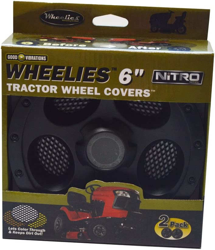 Amazon.com: Good Vibrations 186 cubiertas para ruedas de ...