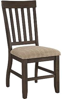Ashley Furniture Signature Design   Dresbar Dining Room Chair   Classic  Rake Back With Plush Seats