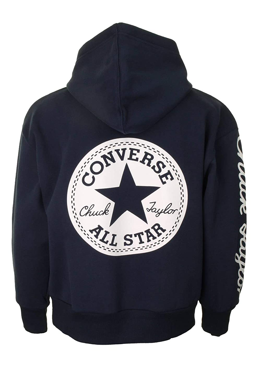 430d980dbbf Converse Boys Kids  Chuck Taylor  Overhead Hoodie  Amazon.co.uk  Clothing