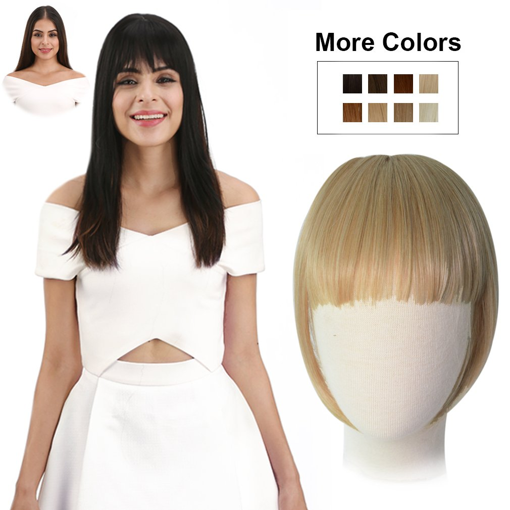 Amazon Ken Paves Clip In Bang Hair Extension 1 Piece Hair