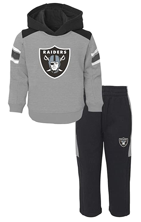4ee5bed2 Amazon.com : Outerstuff Oakland Raiders NFL Touchdown Toddler Fleece ...