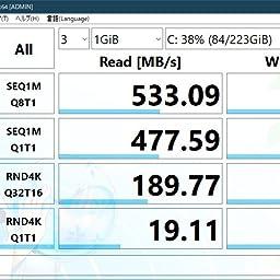 Amazon Co Jp カスタマーレビュー Asenno 1tb 960gb 2 5インチssd 256mキャッシュsataiii 6gb Sノートブックタブレットデスクトップpc用の内蔵ソリッドステートハードドライブ