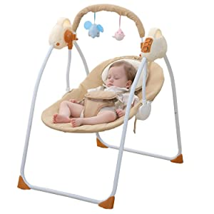 WBPINE Baby Swing Cradle