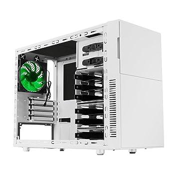 Nanoxia Deep Silence 4 Mini-Tower Blanco carcasa de ordenador - Caja de ordenador (