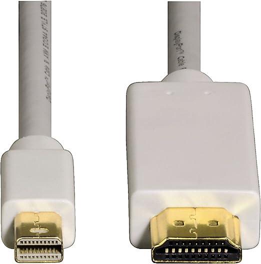 Hama Mini Displayport Zu Hdmi Adapter 1 5 M Full Hd Computer Zubehör