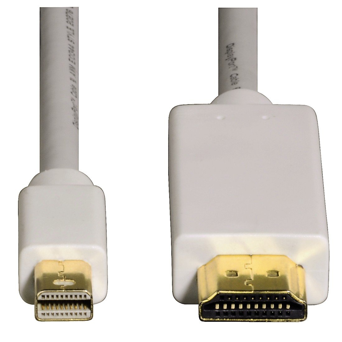 1.5 m Bianco per Mac Dorato Hama Cavo Adattatore Mini Display Port//HDMI