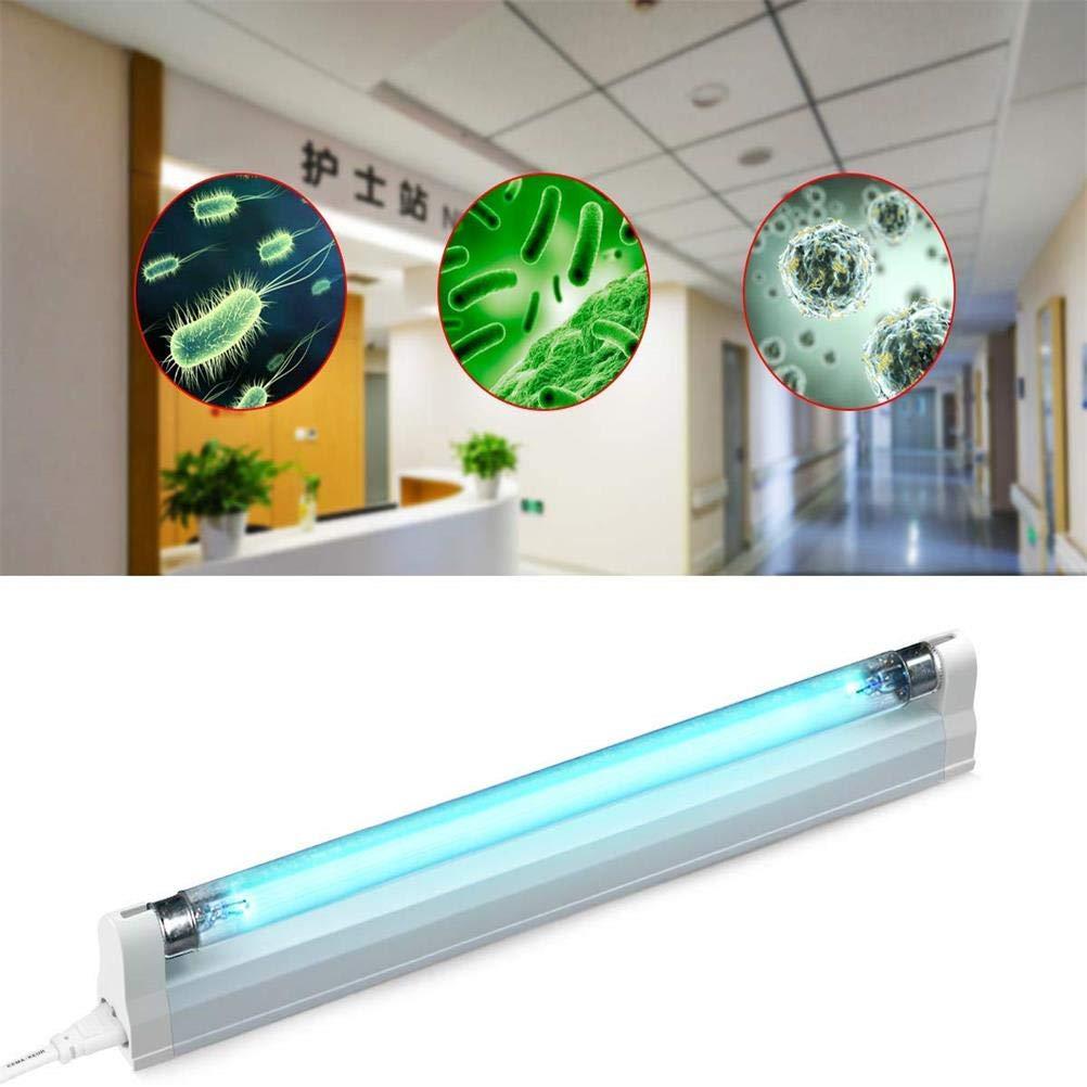 Assorted Color 8W Macabolo UV Ozon Lampe Sterilisation Licht UV Desinfektion UV-Licht Streifen Luftreiniger f/ür Krankenhaus B/üro Schule