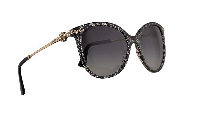 Amazon.com: Bvlgari BV8201-B - Gafas de sol, color negro ...