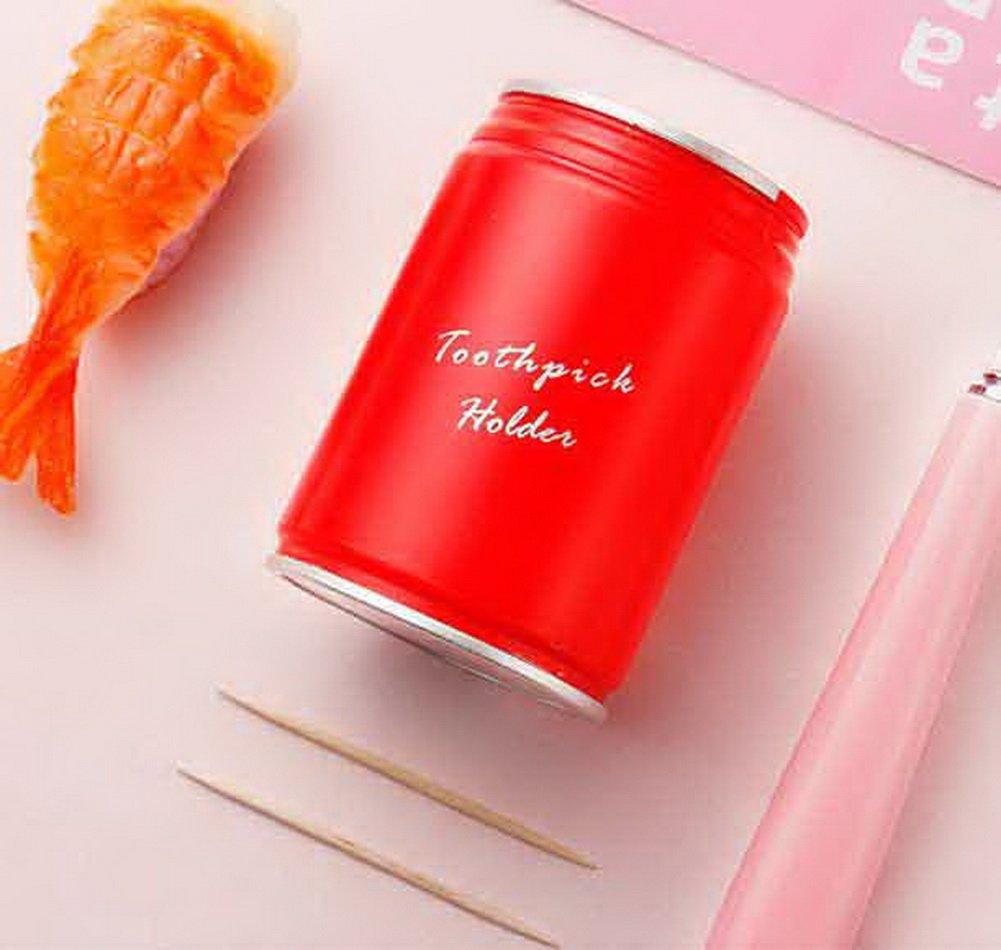 Koala Superstore Latas Cepillo de Dientes automático Creativo Coca-Cola de presión Cepillos Tubo Rojo: Amazon.es: Hogar