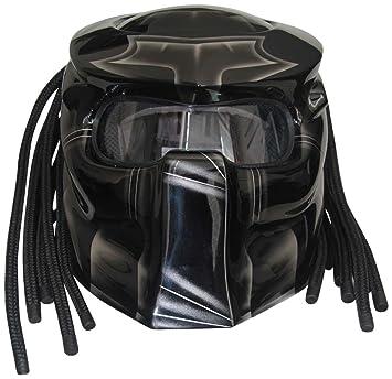 XFF Fiber Factory - Casco Predator X1 Airbrush para moto Small Airbrush