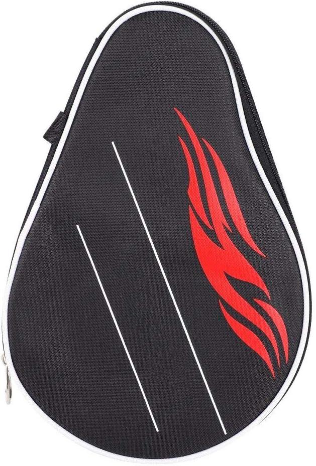 T best Bolso de Paleta de Ping Pong, Estuche de Raqueta de Tenis de Mesa Bolso de Raqueta de Ping-Pong con Bolsa de Pelotas