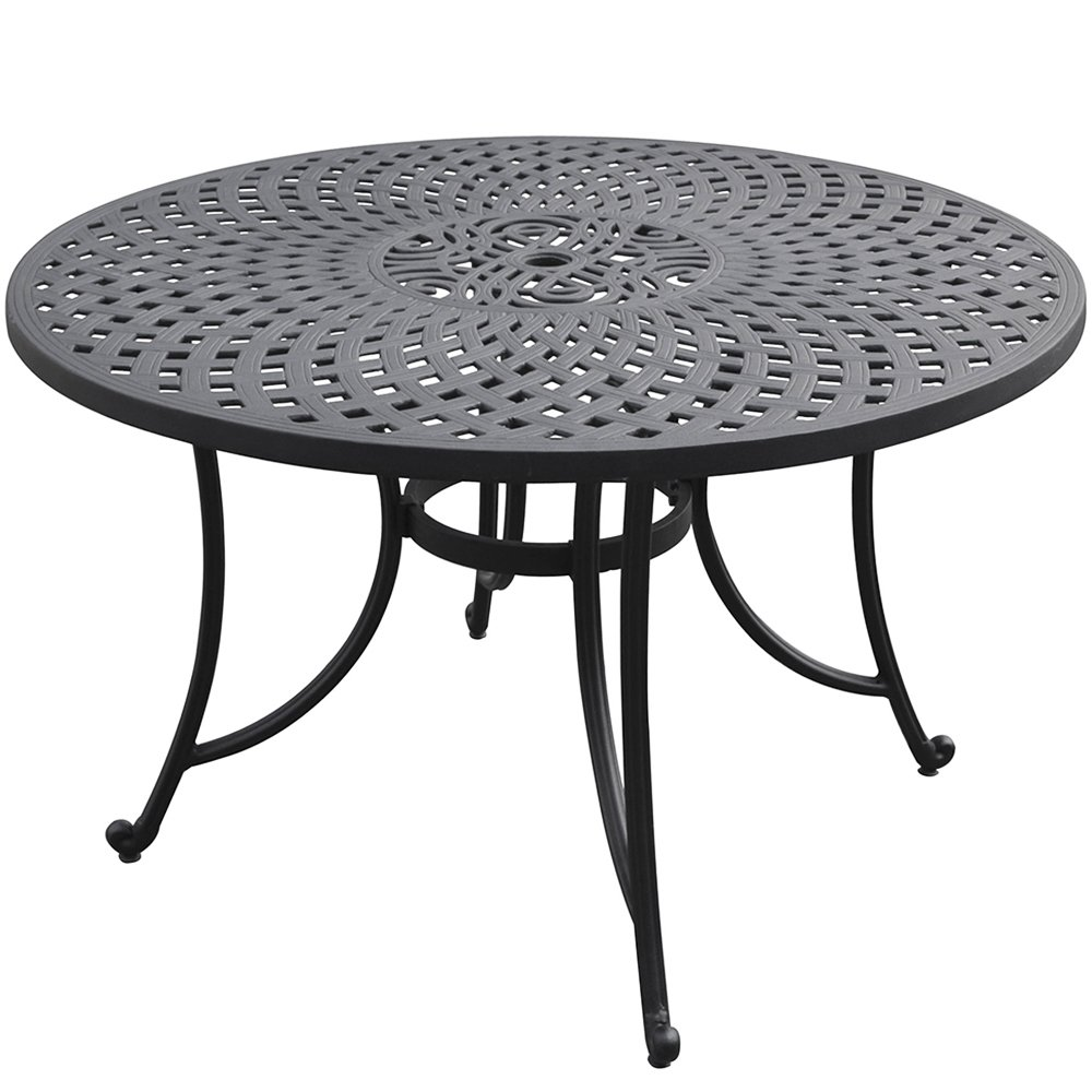 Amazoncom  Crosley Furniture Sedona Piece SolidCast Aluminum - Aluminum dining table