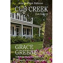 Cub Creek (Large Print): A Virginia Country Roads Novel