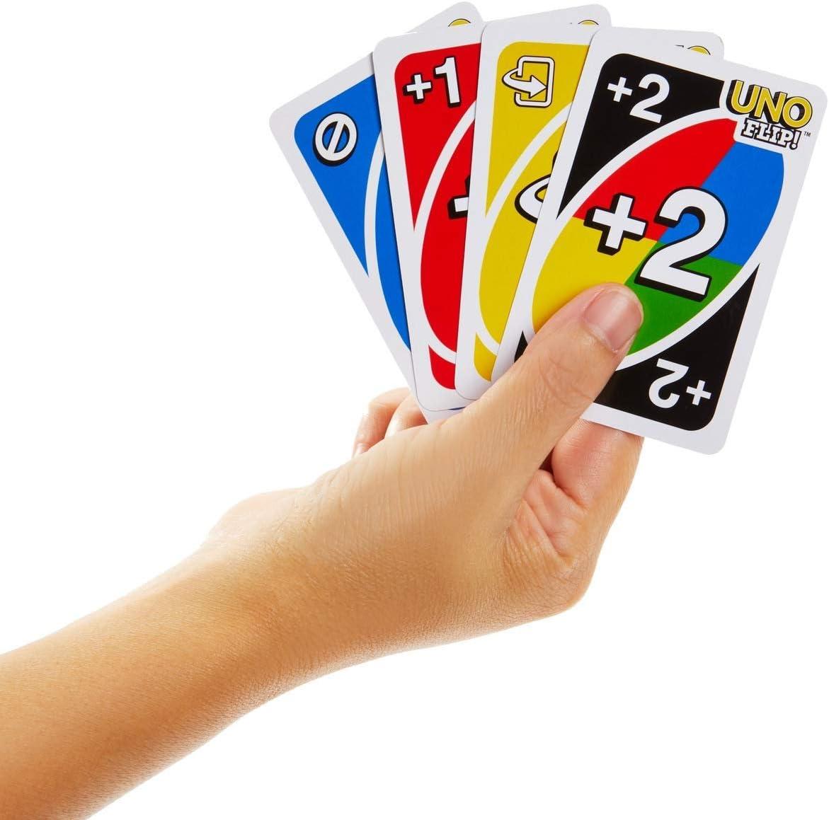 Mattel Games UNO Flip Juegos de cartas (Mattel GDR44): Amazon.es: Juguetes y juegos