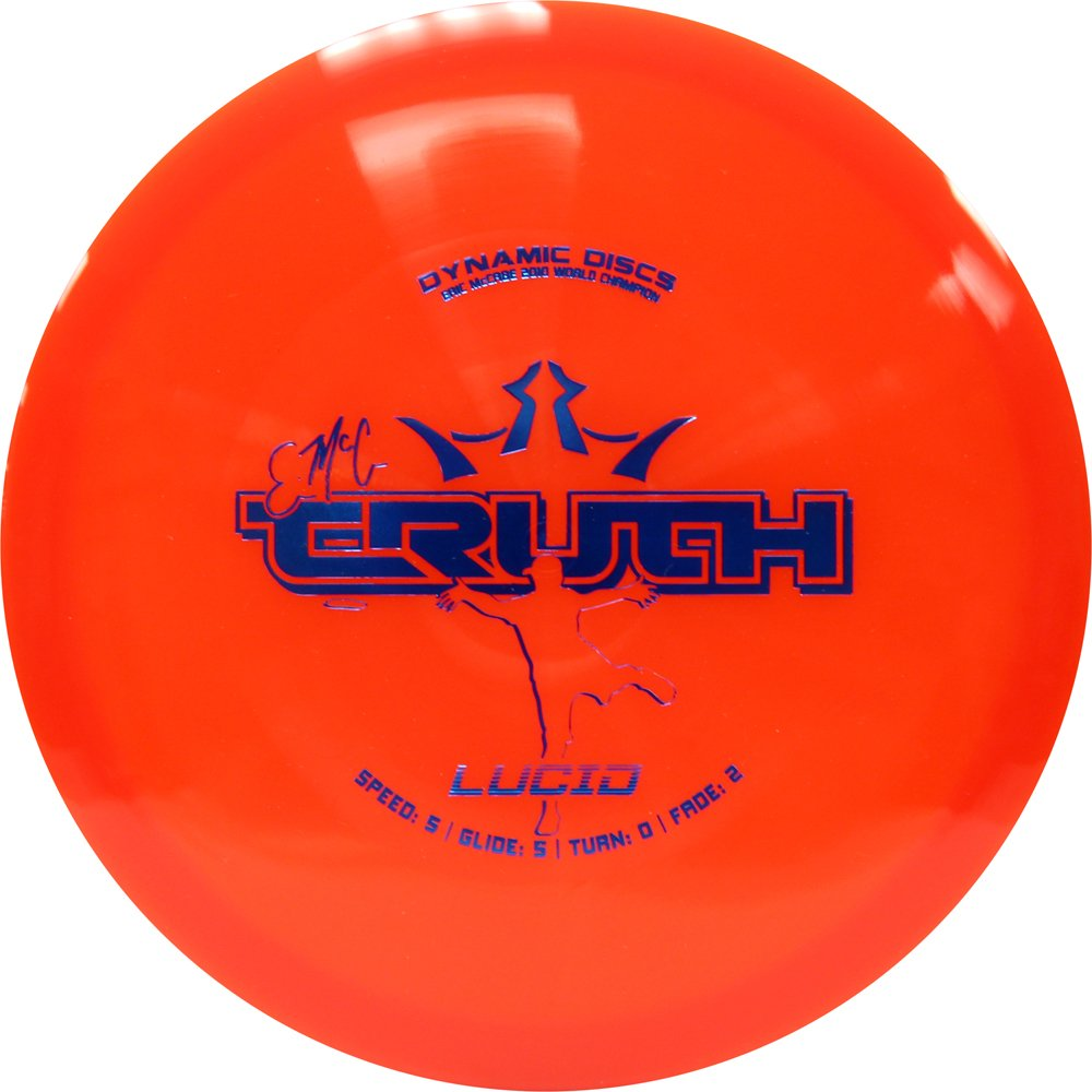 Dynamic Discs Lucid EMAC Truth Midrange Golf Disc [Colors May Vary] - 160-169g by Dynamic Discs