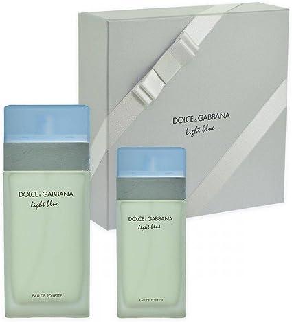 Dolce & Gabbana - Estuche de regalo eau de toilette light blue: Amazon.es: Belleza
