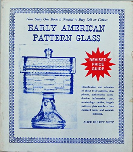 Used, Early American Pattern Glass Value Guide for sale  Delivered anywhere in USA